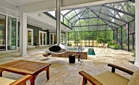 enclosed pool 15 stylish pool enclosure for year round pool usage home design lover