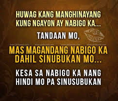 Wedding Quotes Tagalog Tagalog Motivational Quotes And Messages Banat