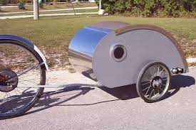 small light cer trailers some of the coolest uses of bike trailers ever