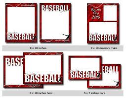 sports baseball vol 4 phototshop and elements templates