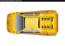 vehicle top view sport car top view vector yayimages com