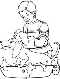 coloring page of a big dog pet puppy coloring pages from raisingourkids com http www