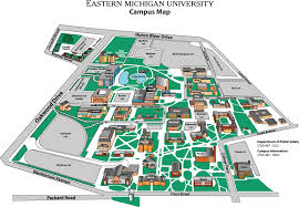 San Francisco State University Map by Map Of East Michigan Michigan Map