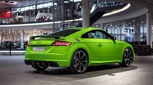 lime green bentley 2016 audi tt rs gets lime green treatment for the audi forum