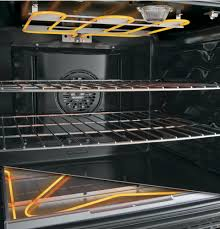 Ge Profile Ceramic Cooktop Replacement Ge Pb960ejes 30 Inch Freestanding Double Oven Electric Range With