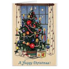 vintage christmas cards u0026 invitations zazzle co uk