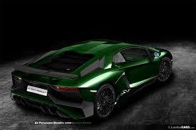 Lamborghini Aventador Top Speed - lamborghini aventador sv rendered in all 34 shades colours gtspirit