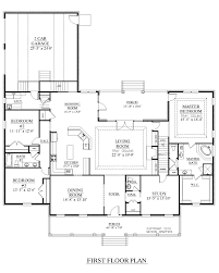 Car Plan View Southern Heritage Home Designs House Plan 2890 A The Davenport A
