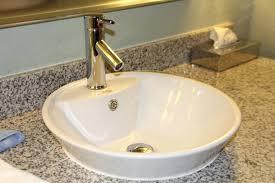 vessel sinks bathroom ideas white ceramic vessel sink cad75 com