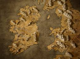 Fantasy Map Ireland In A Fantasy Map Sort Of Style Ireland