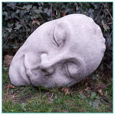 faces garden ornaments
