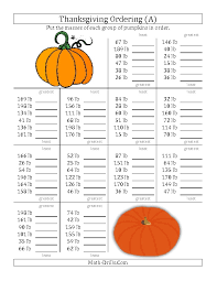 thanksgiving measurement worksheets happy thanksgiving