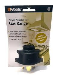 amazon com woods power adapter for gas range home improvement