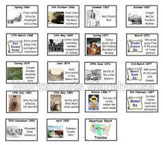 american west timeline flash cards 2 history timeline