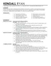 resume perfect resume cover letter example sample retail cashier