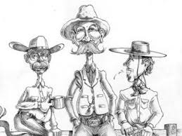 sketches diamond doug keith cowboy poet cowboy cartoonist