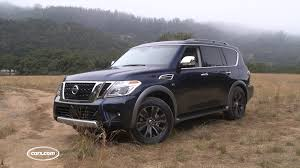 nissan armada body styles 2017 nissan armada first drive youtube