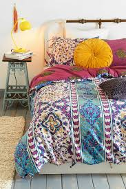 bedroom funky and colorful bedroom design with bohemian bedroom