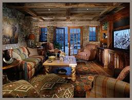 Western Room Decor Western Decorating Ideas For Living Rooms With Black Sofa