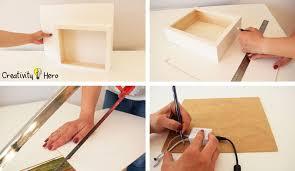 how to create a 3d paper cut light box diy project creativity