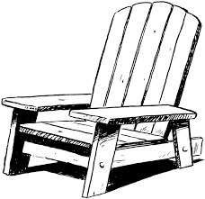 Beach Armchair Sofa Magnificent Adirondack Chairs Clipart Muskoka Chair