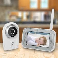 vtech 4 3 inch digital video baby monitor with automatic night