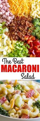 the best macaroni salad recipe macaroni salads macaroni and salad