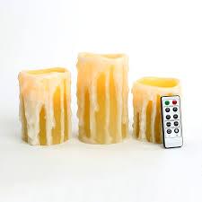 halloween led candles lights com flameless candles pillar candles heavy drip wax