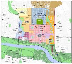 Map Of Downtown Austin by Urban Design Group Pc Downtown Austin Plan