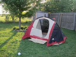 backyard camping becoming mamas