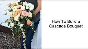Cascade Bouquet Diy Cascade Bridal Bouquet Flower Moxie Youtube