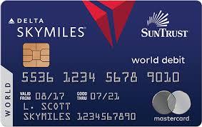 debit card for mastercard debit cards suntrust personal banking