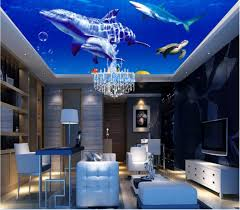 compare prices on shark wall mural online shopping buy low price custom photo 3d ceiling murals wallpaper home decor painting sea whale shark picture 3d wall murals