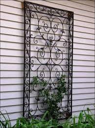 home sculpture decor large outdoor metal wall sculpture wrought iron decorative panels