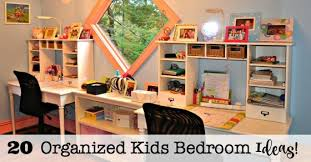 20 Organized Kids Bedroom Ideas  MomOf6