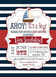 nautical baby shower invitations nautical baby shower invitations kawaiitheo
