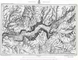 Yosemite Valley Map 1883 Topographic Map Of Yosemite Valley Old Maps Pinterest