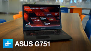 asus gaming laptop black friday asus rog g751 gaming laptop hands on youtube