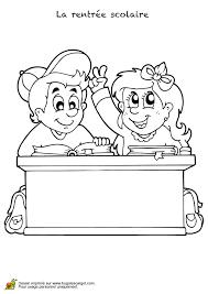 dessin de bureau coloriage bureau pour la rentrée scolaire