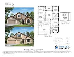 waverly model suarez housing