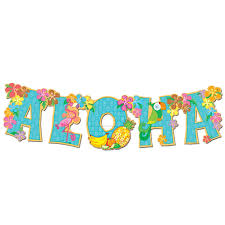 hawaiian luau party clipart 70