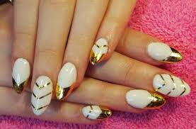 28 best nailed it images edgy white gold nails nail foil