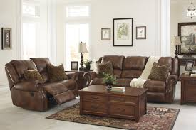 sofa match leather match reclining power sofa with nailhead trim by signature