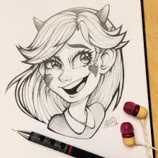 star butterfly sketch by thelittleartything on deviantart