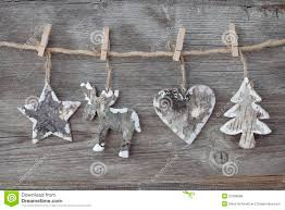wooden christmas decoration royalty free stock photos image