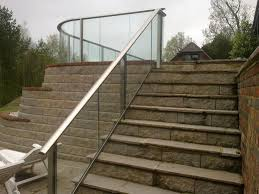 glass railing with panels outdoor for balconies balcony 2
