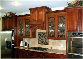 Kitchen Cabinets With Frosted Glass Kitchen Cabinet Glass Inserts Leaded Frosted Glass Front Door