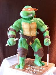 tmnt cake topper mutant turtles cake designs and party ideas