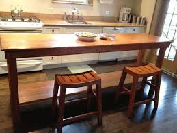 narrow kitchen island table narrow kitchen island table new home design the