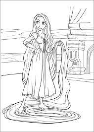 tangled coloring pages 19 coloring kids